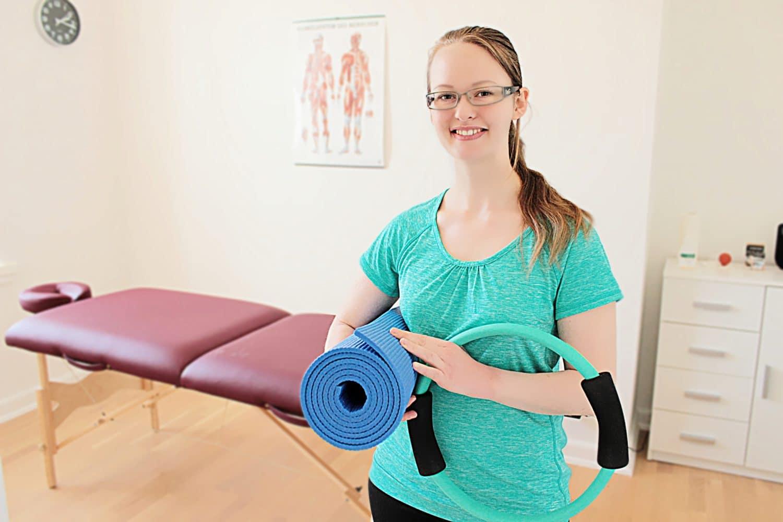 træning er en del af fysioterapi hos Lykkefys i Esbjerg